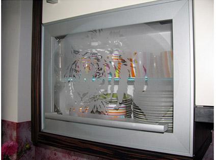 Peskano steklo